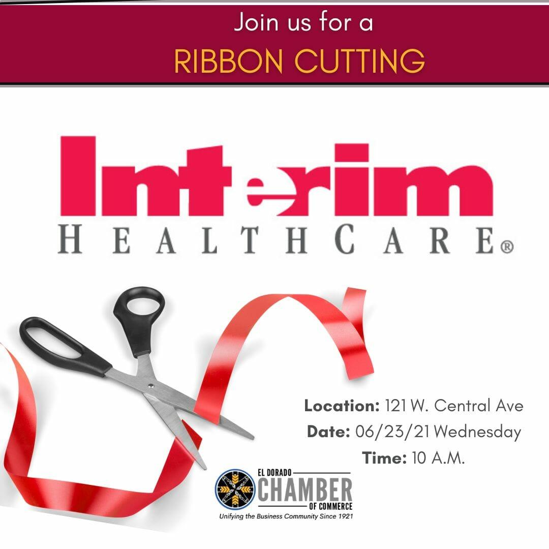 Interim Healthcare Ribbon Cutting