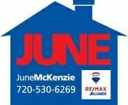 JUNE McKenzie logo Vert w roofa