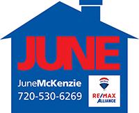 JUNE McKenzie logo Vert w roof 200x163