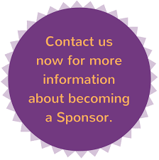 contact us now for more information about becoming a Sponsor
