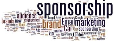sponsorship word art