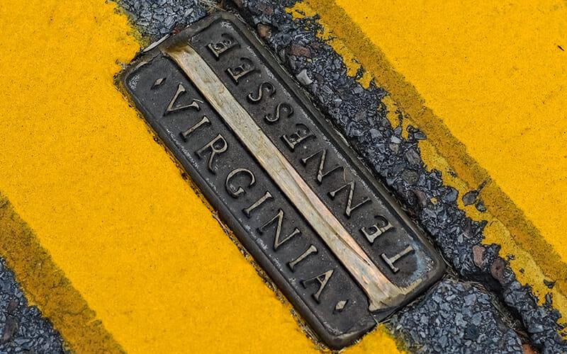 Bristol Road Placard State Line