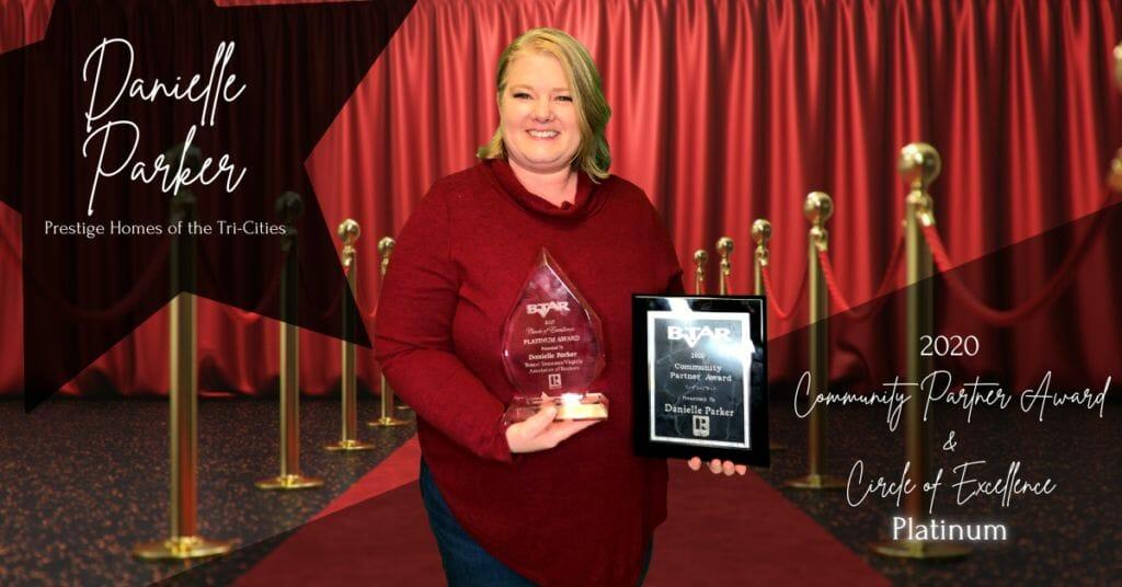Danielle Parker - Community Partner Award & Circle of Excellence Platinum