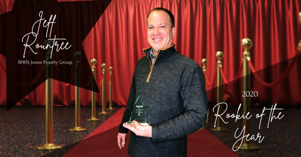 Jeff Rountree - Rookie of the Year