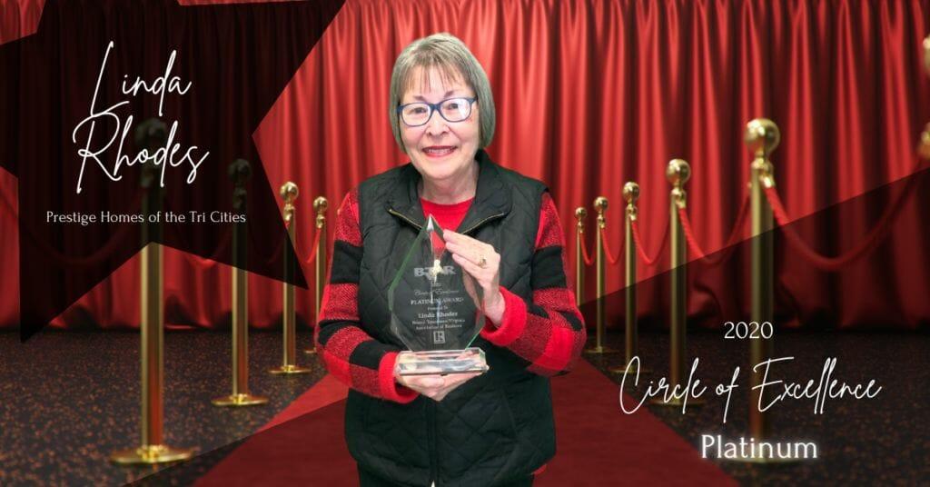 Linda Rhodes - Circle of Excellence Platinum