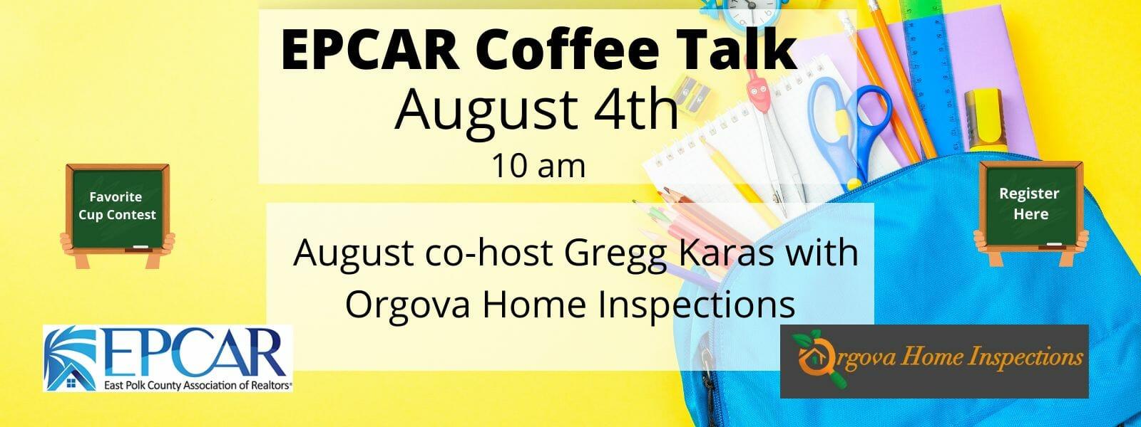 August coffee talk