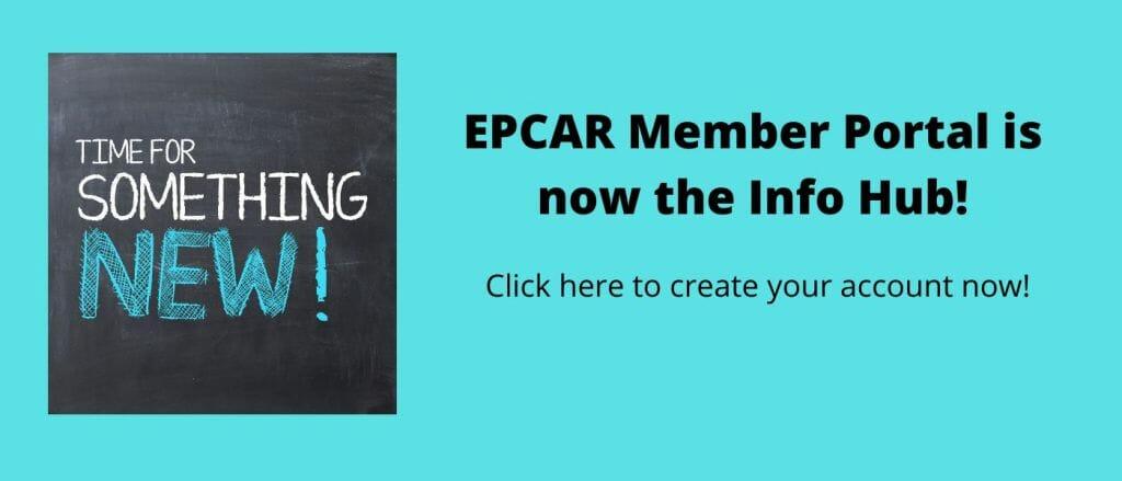 EPCAR Member Portal is now the Info Hub!