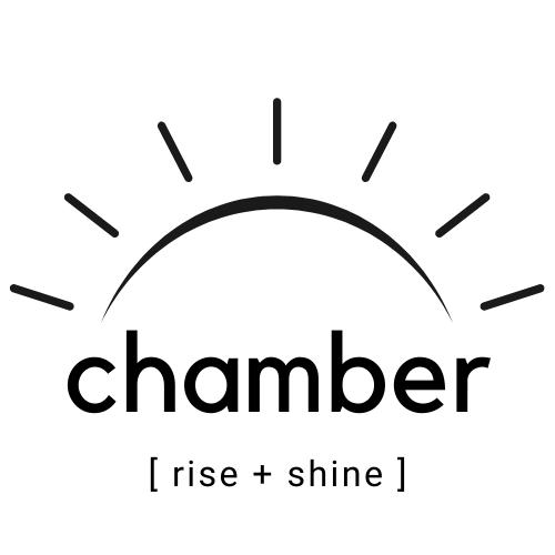 Chamber Rise and Shine Logo