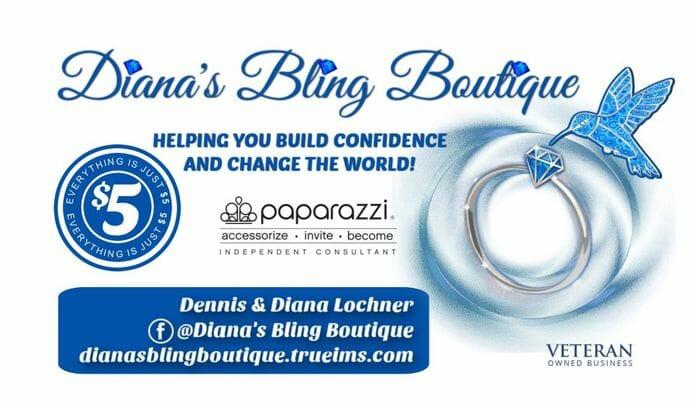 Dianas Bling Boutique event logo