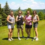 Women on the course and making business decisions