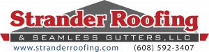 Strander Roofing and seamless gutters
