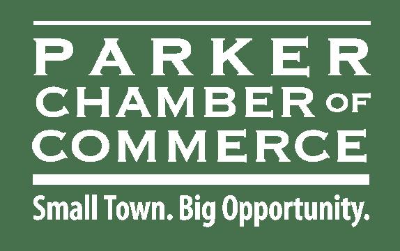 Parker Chamber Logo White