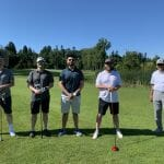 Garry with Evolution Group at Tee Off