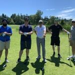 Garry with GCT (L) and 505 Junk (R) at Tee Off