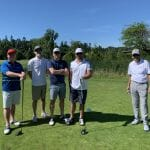 Garry with GCT at Tee Off
