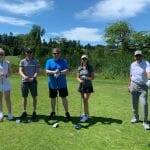 Garry with Grosvenor at Tee Off