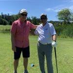 Garry with Mayor Harvie