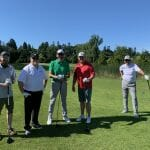 Garry with Seaspan at Tee Off