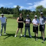 Garry with UAPICBC at Tee Off