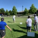 Putting Contest with Players