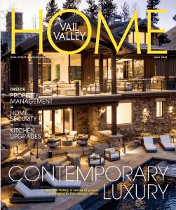 HOME magazine cover