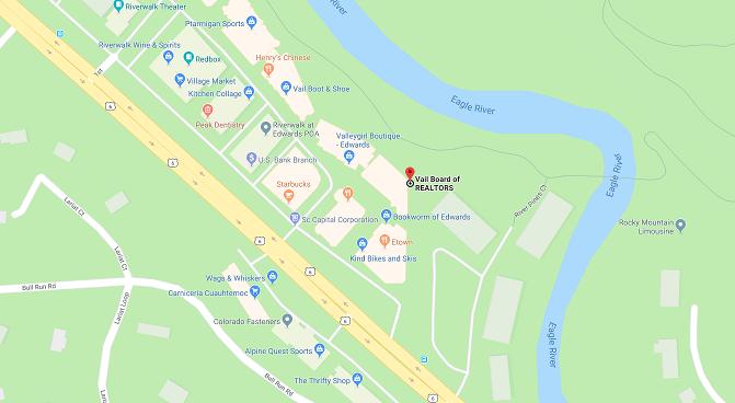 VBR location map