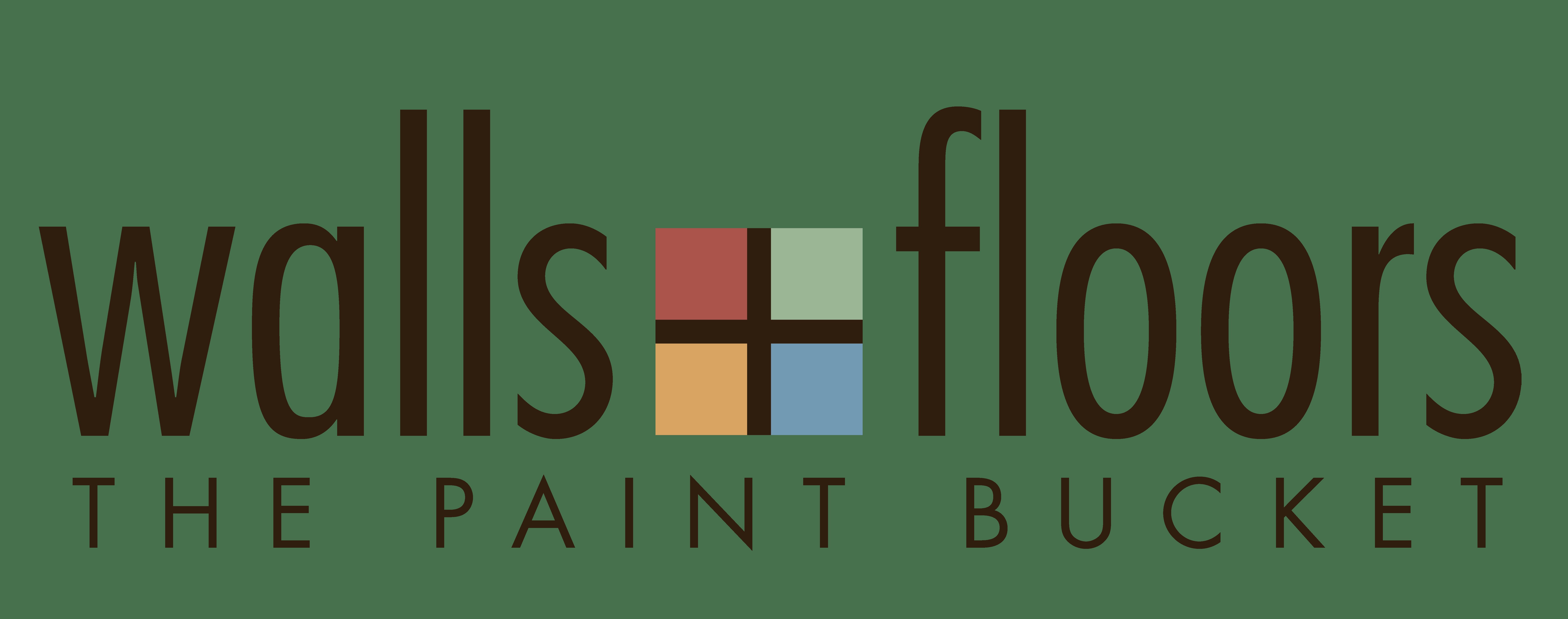 Walls + Floors The Paint Bucket