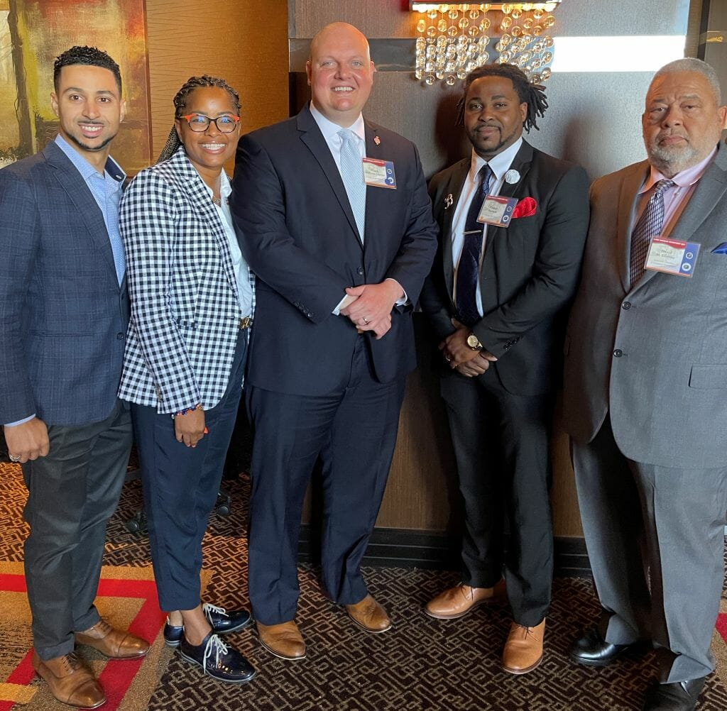 LCCF & The Lake Charles Regional Minority Business Chamber of Commerce had the opportunity to meet and discuss the needs of Minority Businesses with Mayor Nic Hunter.
