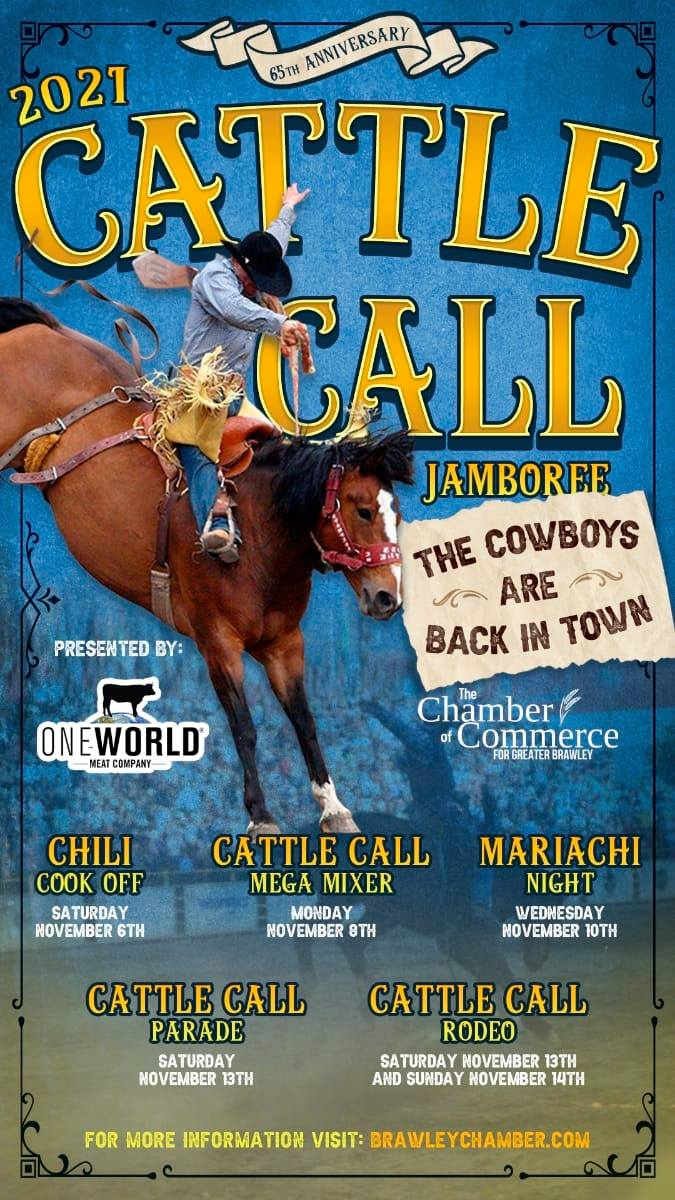 Brawley Cattle Call Flyer