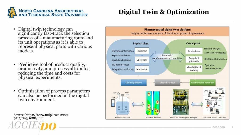 "Salil Desai, Ph.D., says ""digital twinning"" is the future of biomanufacturing."