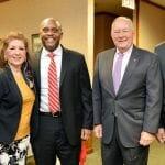 Sen. Paul Newton, Rep. Donna White, Rep. Robert Reives, Sen. Brent Jackson and Sen. Mike Woodard