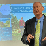 Scott Uknes, Ph.D., co-founder and co-CEO of AgBiome