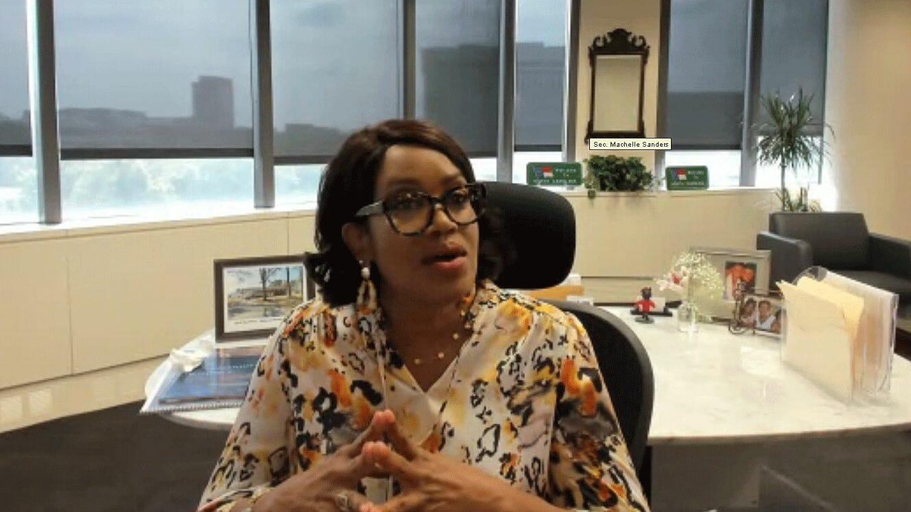 NC Secretary of Commerce Machelle Sanders