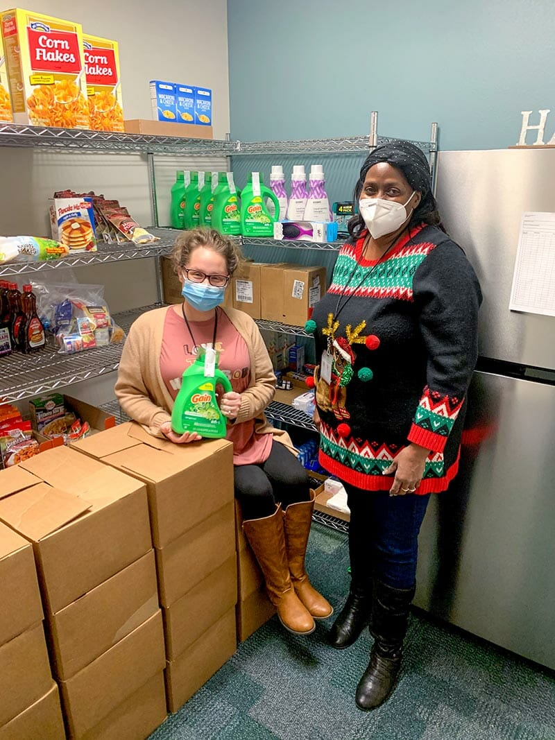 Midland Alternative Program's Hygiene Pantry