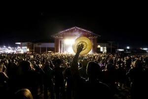Midland Horseshoe Arena Pavilion (Midland Summer Mummers (Downtown Midland (Photo by James Durbin Media)