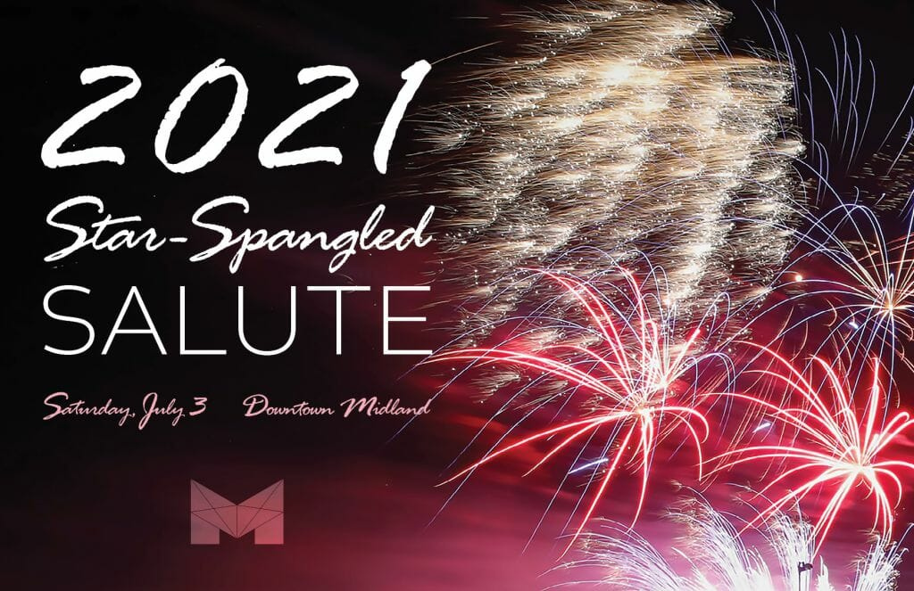 2021 Star-Spangled Salute (Midland Chamber of Commerce, Texas)