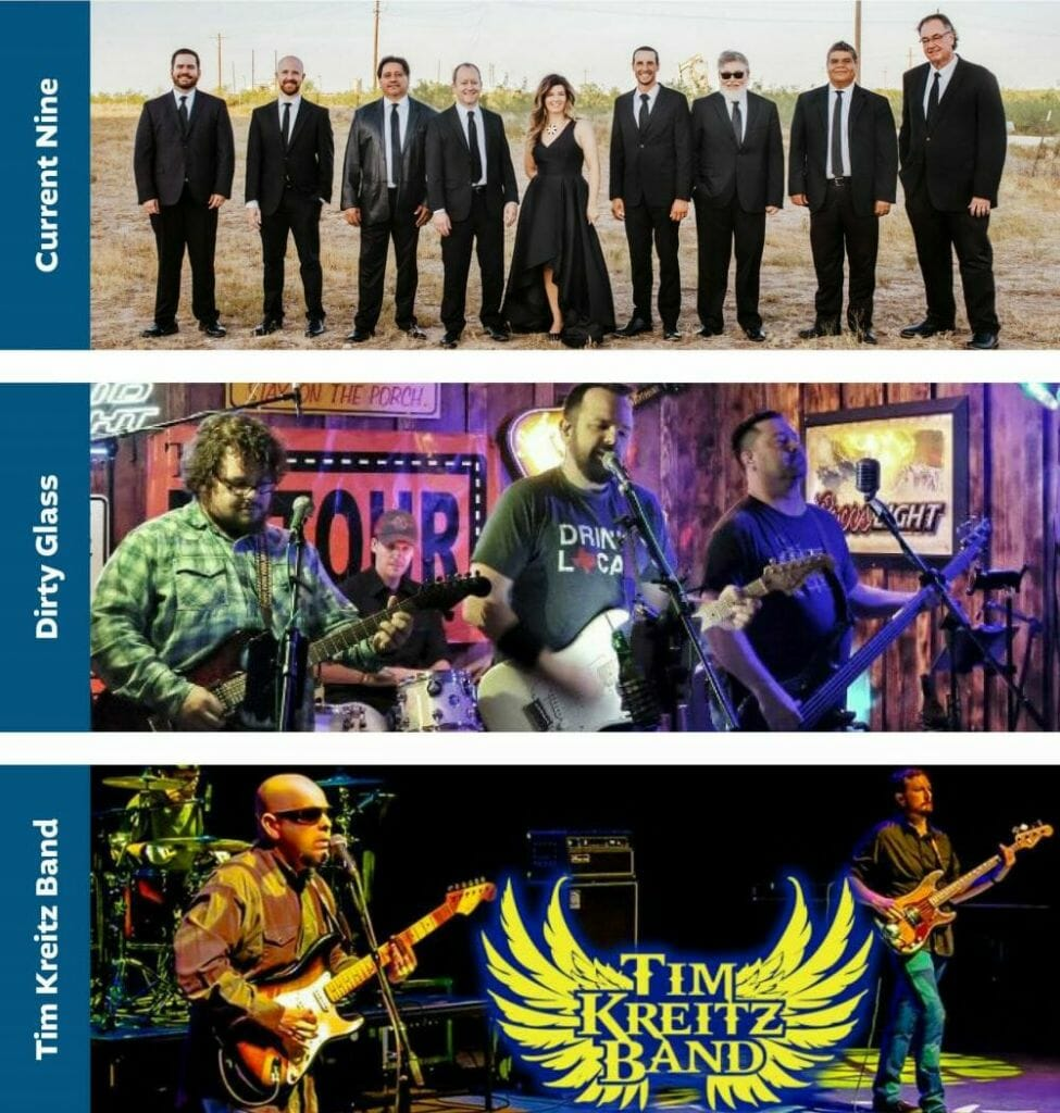 2021 Star-Spangled Salute - Midland Chamber of Commerce - Featured Bands