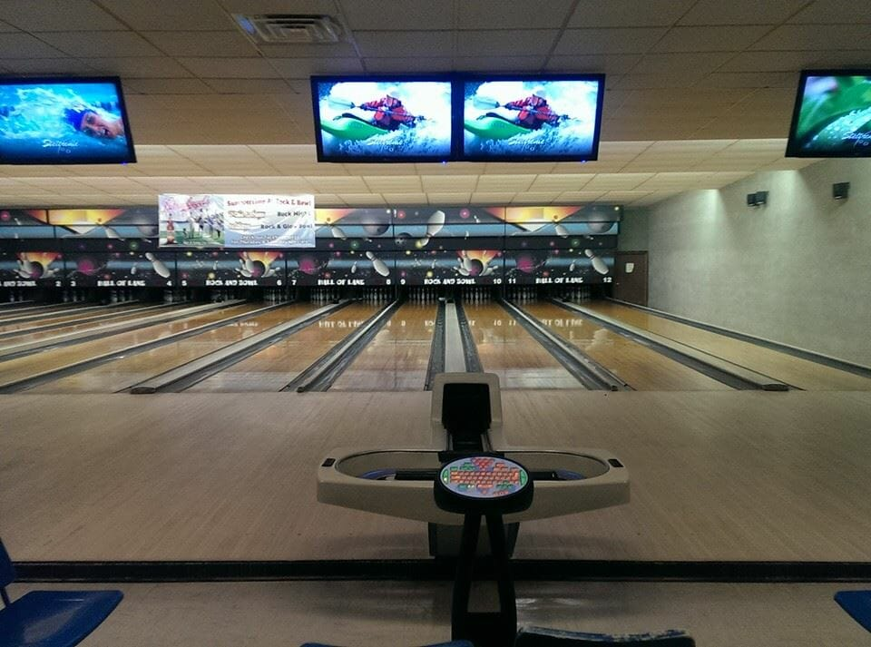Rock and Bowl Hall of Lane in Jefferson, Wisconsin
