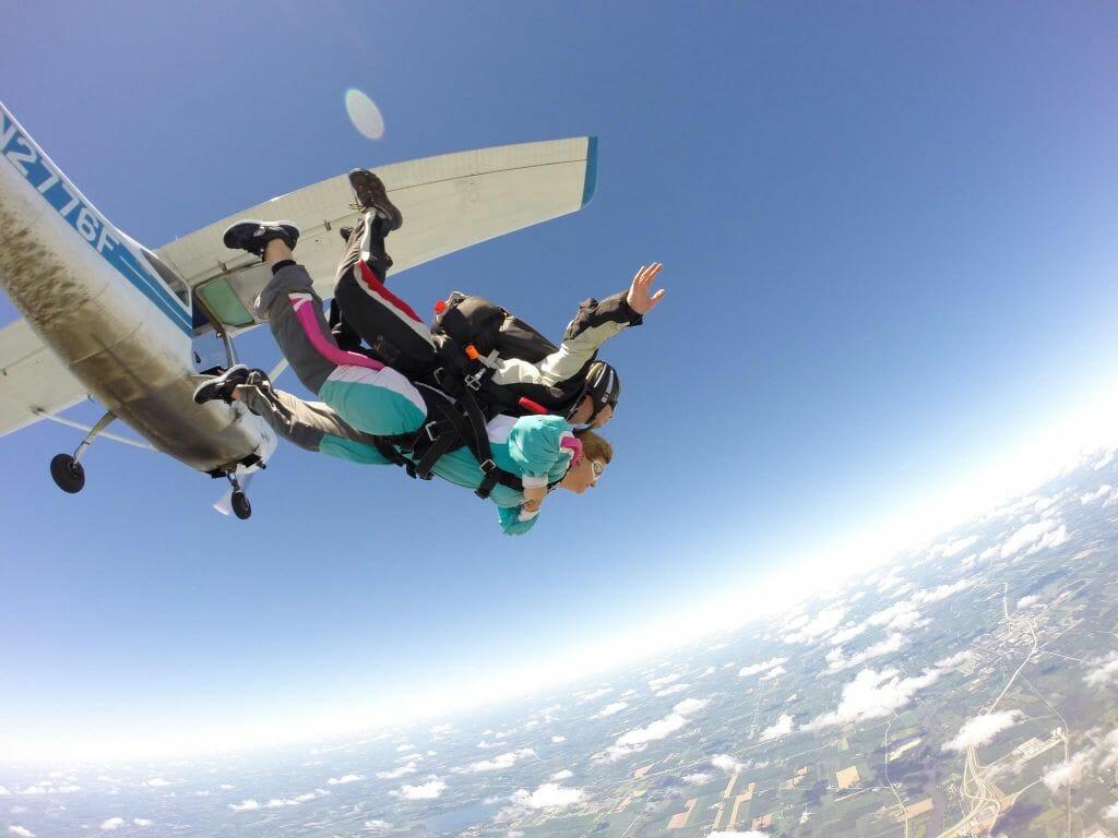 Wisconsin Skydiving Center in Jefferson, Wisconsin