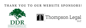 Website sponsor header