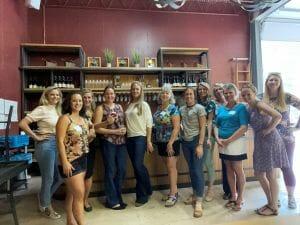 WIN Group enjoying a tasting at Casey Brewing & Blending