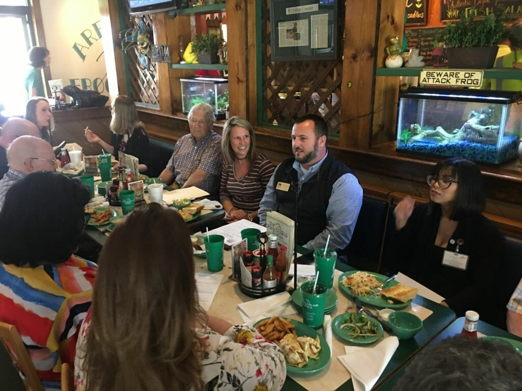 Ambassadors April 2019 - Froghead Grill 5