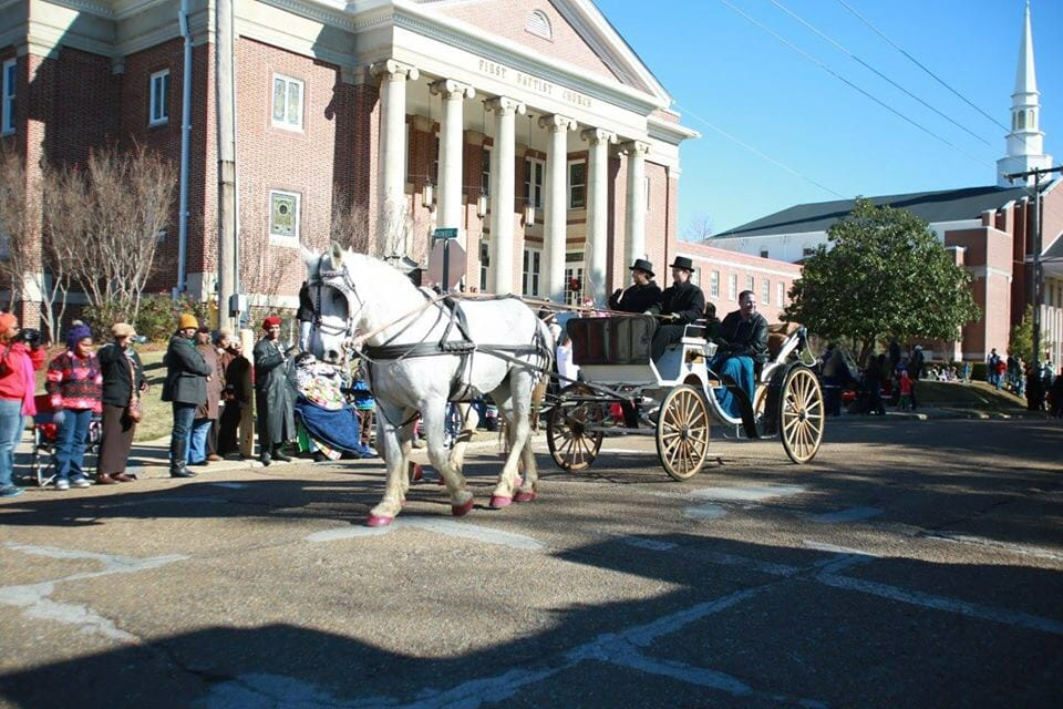 Christmas Parade Carriage