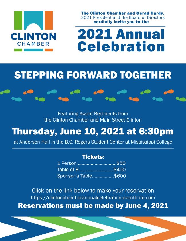 2021 Annual Celebration Invitation
