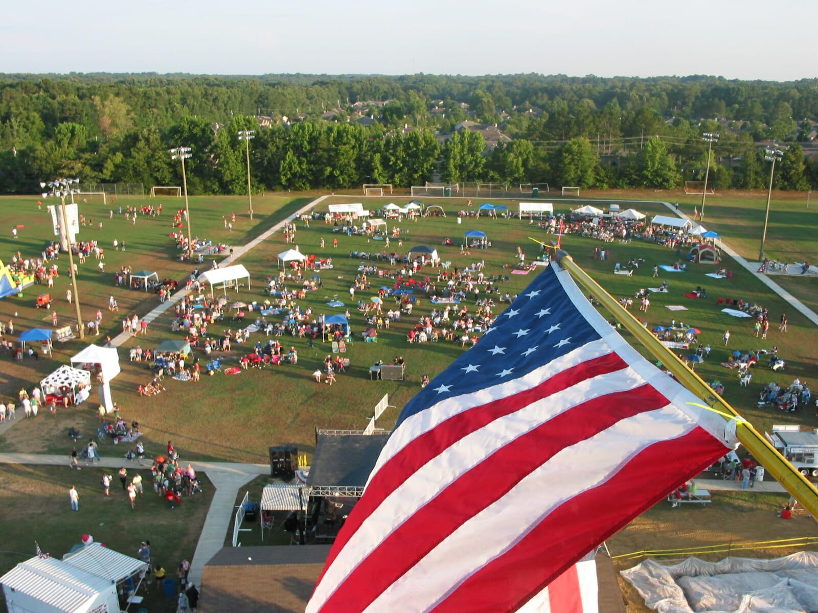 July 4, 2005 Aerial