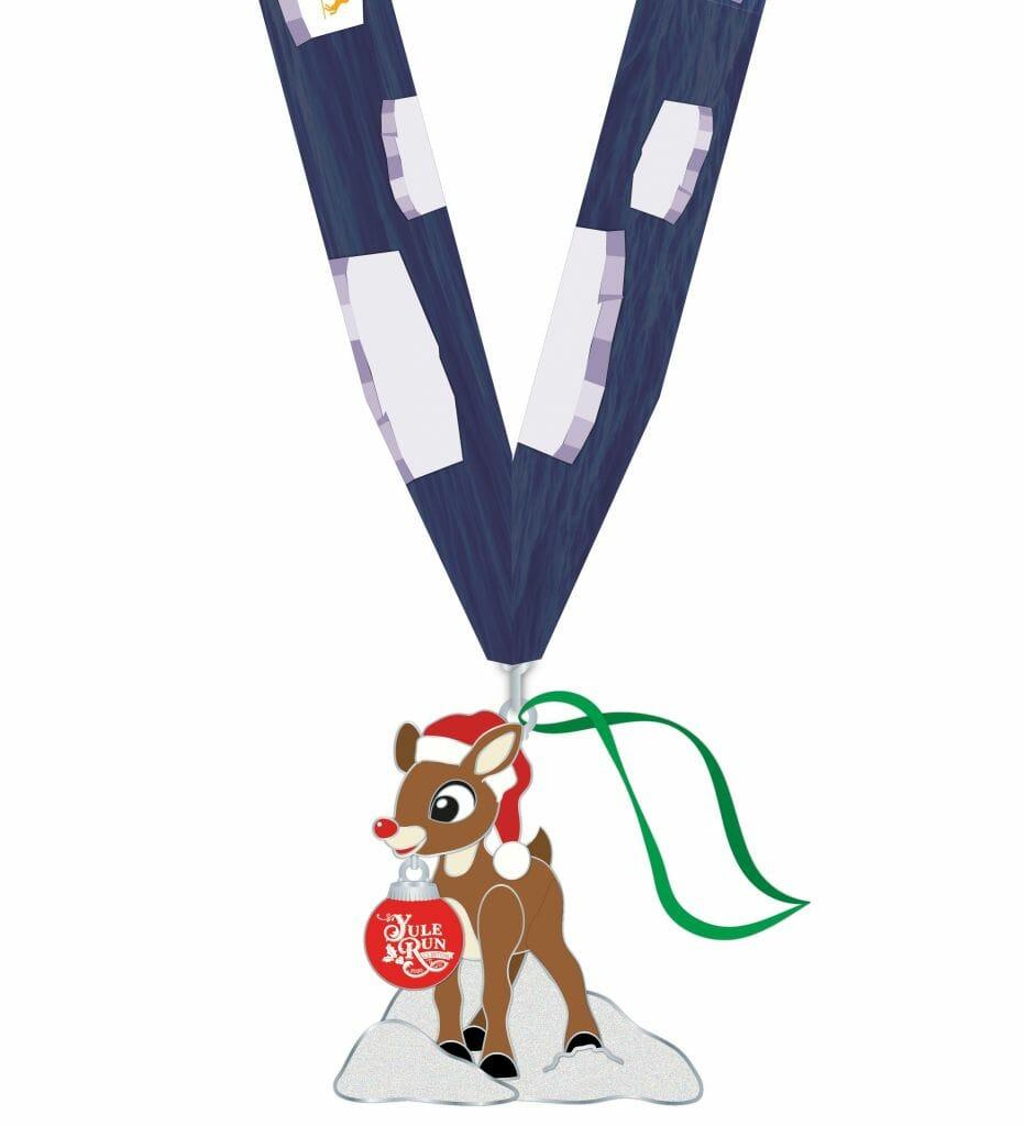 Yule Run Clinton 2020 Medal