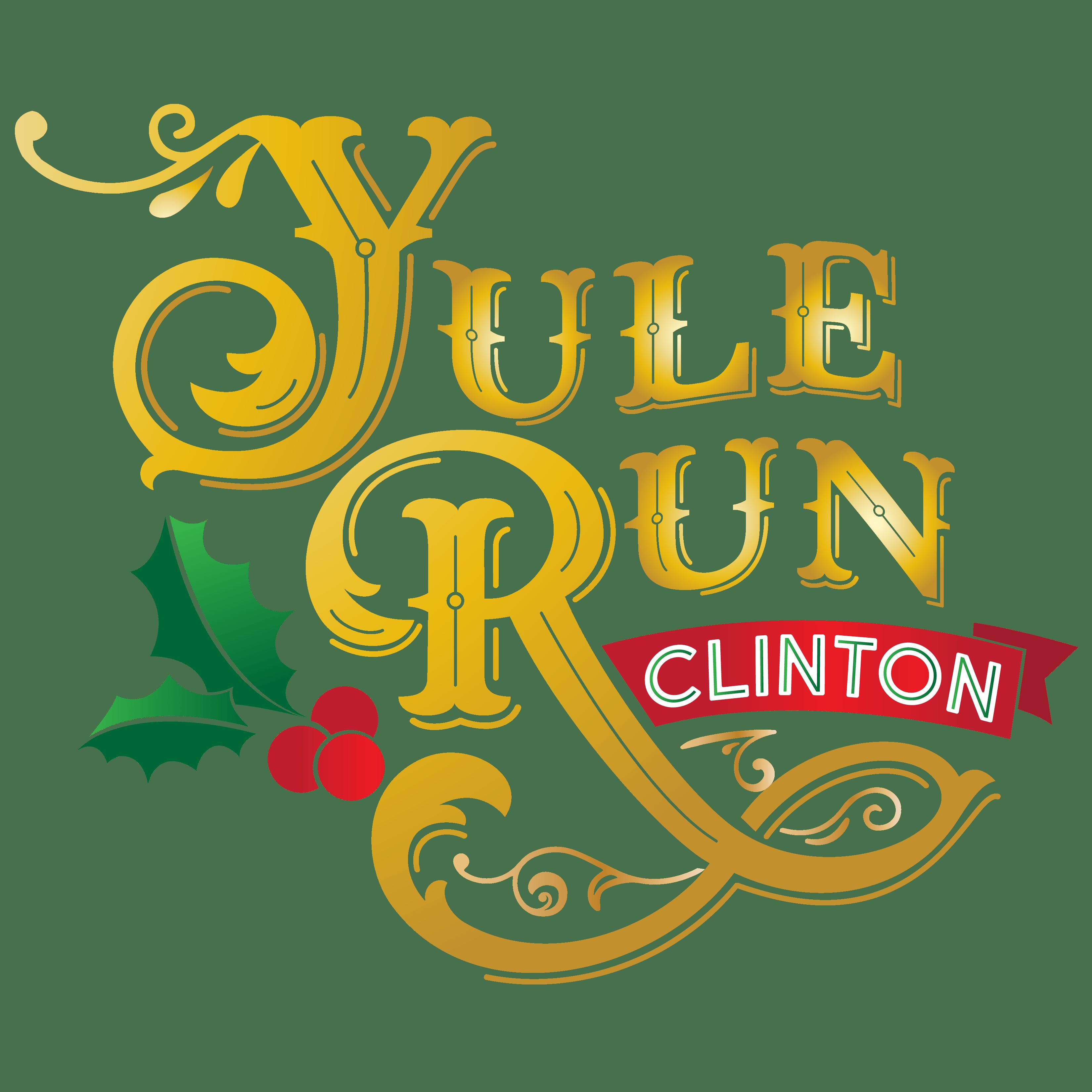 Yule Run Clinton logo
