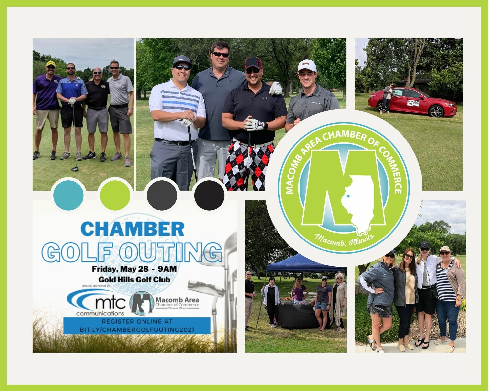 Golf Outing Collage Website