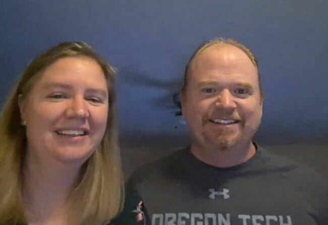 In 2021, the award presentations for Corleen and Mike were given during our video conference.