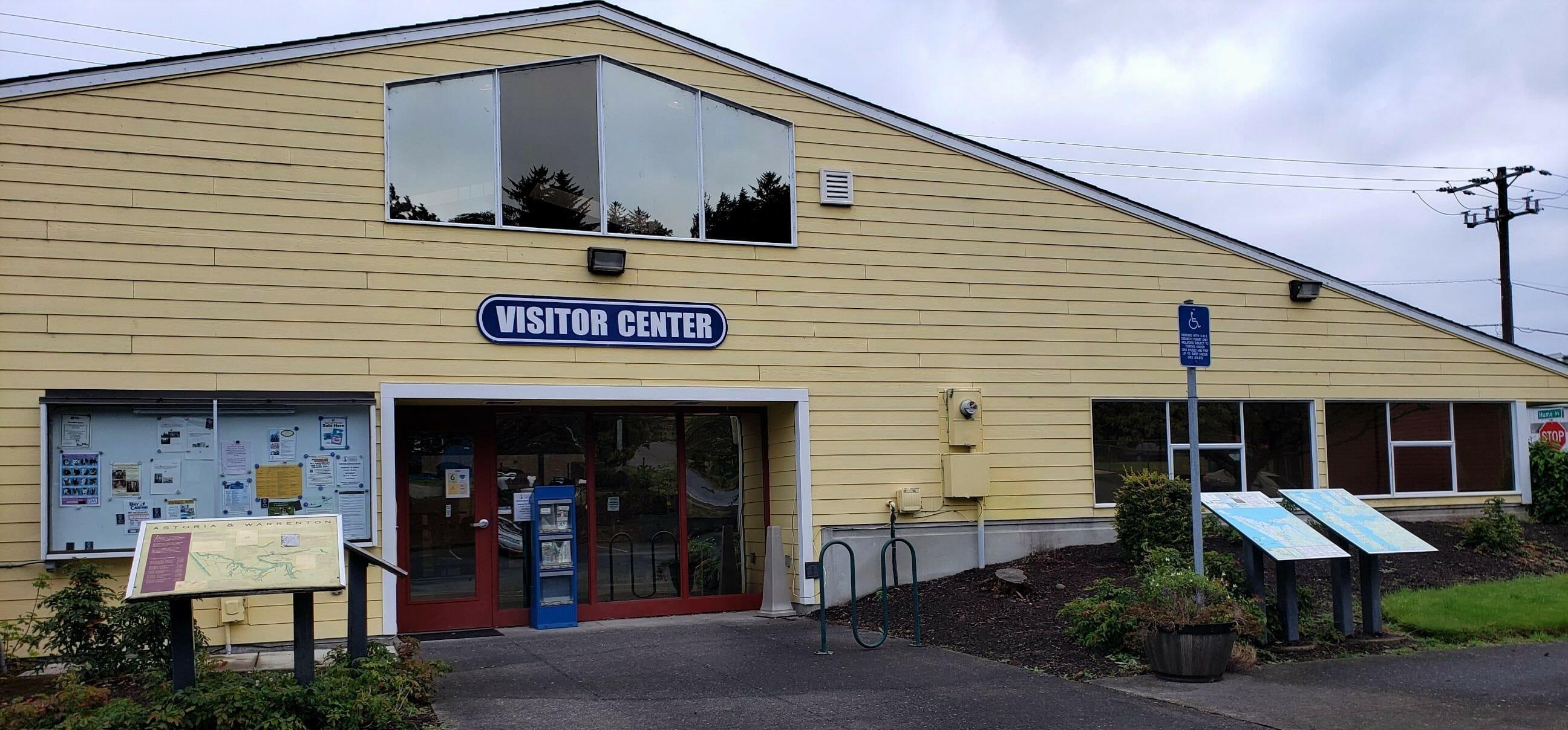 Visitor Center Exterior South 102020 1rev
